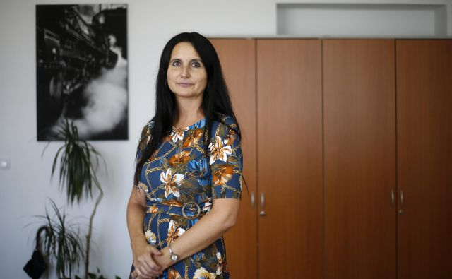 Darja Kocjan, direktorica potniškega prometa na Slovenskih železnicah. FOTO: Matej Družnik/Delo