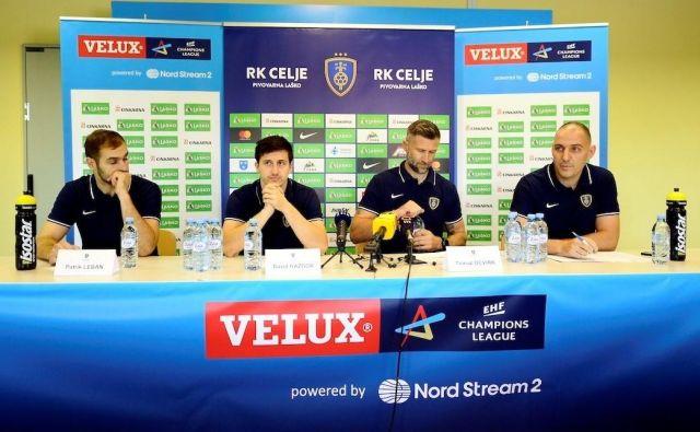 Pri slovenskem rokometnem prvaku Celju Pivovarni Laškem so nared za uvodno tekmo v tej sezoni lige prvakov. FOTO: Slavko Kolar
