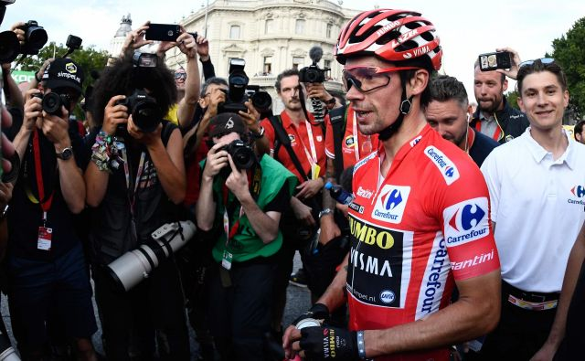 Primož Roglič bo po zmagi precej bolj gotov vase in svoje sposobnosti. FOTO: AFP