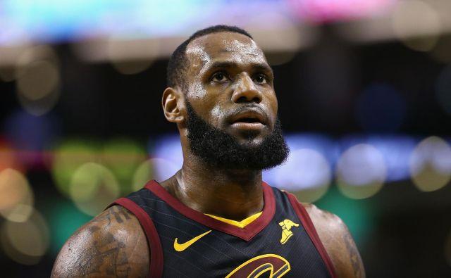 LeBron James podpira zakon, da bi dobili mladi športniki nadomestilo za uporabo njihovih imen. FOTO: Maddie Meyer/AFP