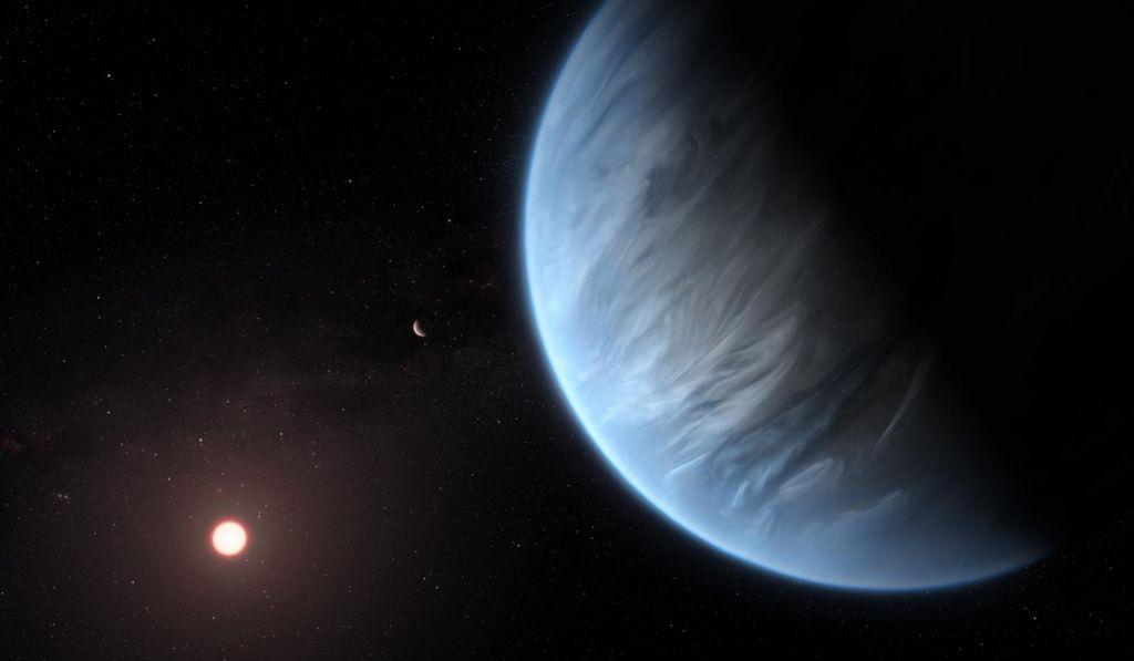 Prvič odkrili Superzemljoz vodno paro v atmosferi
