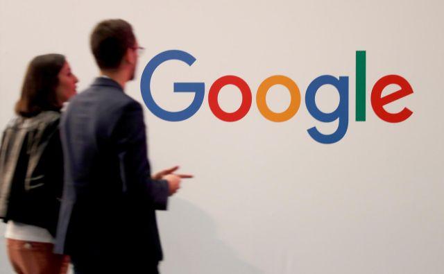 Dogovor med Googlom in Francijo ocenjujejo za precedenčen, lahko bi vplival na poslovanje drugih globalnih tehnoloških podjetij, ki poslujejo v tej državi. FOTO: Charles Platiau/Reuters