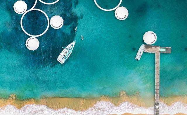 Naprodaj plavajoči apartma, ki ga je navdihnil James Bond. Foto: Anthenea.fr