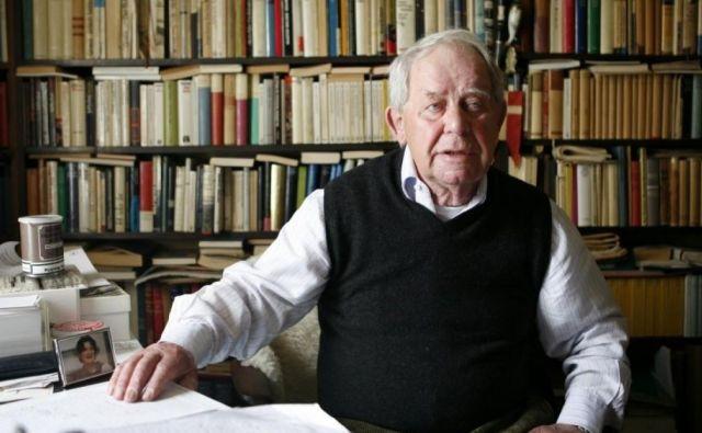 Siegfried Lenz se je v romanih loteval bistvenih družbenih tem. Foto arhiv založbe