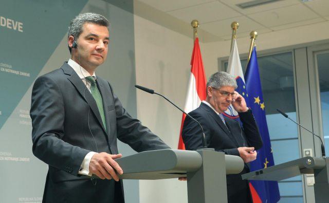 »Treba je pripraviti ukrepe, ki bodo veljali za vse evropske države, in države, ki zdaj ne spoštujejo evropskih pravil, pripraviti do tega, da jih začnejo izvajati,« je na obisku v Sloveniji dejal Wolfgang Peschorn. FOTO: Mavric Pivk/Delo