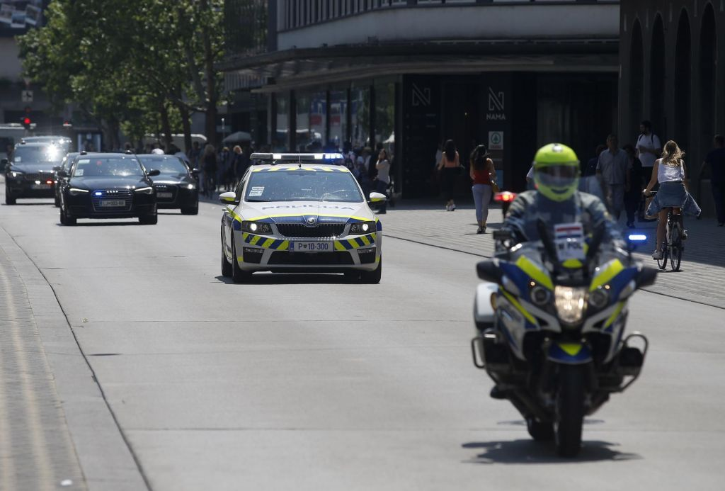 Ob obisku visokih predstavnikov Nata spremenjen prometni režim