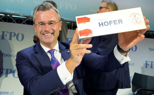 Norbert Hofer FOTO: Joe Klamar AFP