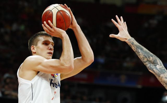Bogdan Bogdanović je zrešetal tudi češki obroč, toda v Srbijo se bo vrnil razočaran. FOTO: Reuters