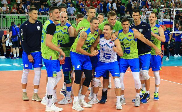 Slovenska reprezentanca se bo v torek pomerila s Severno Makedonijo, potem ko je ta ugnala Belorusijo. FOTO Tomi Lombar/Delo
