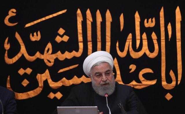 Iranski predsednik Hasan Rohani je za napade okrivil Jemen. Foto: Reuters