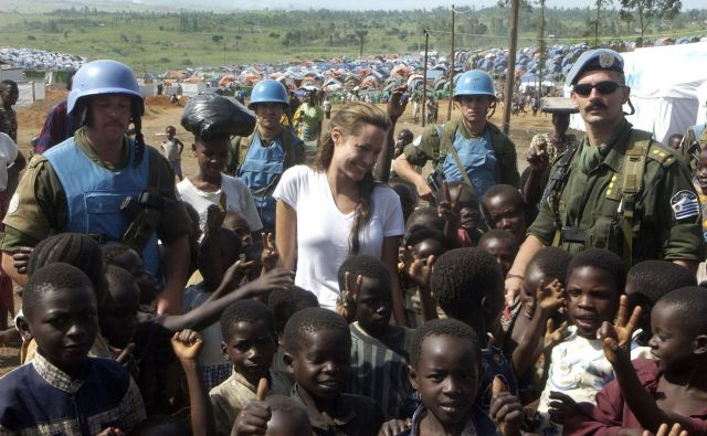 Angelina Jolie je skorajda ikona zvezdniškega aktivizma. FOTO: Reuters