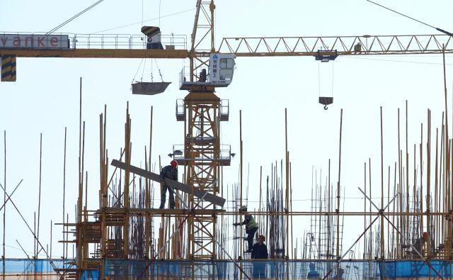 Tudi gradbeništvo se ne bo izognilo digitalizaciji. FOTO: Reuters