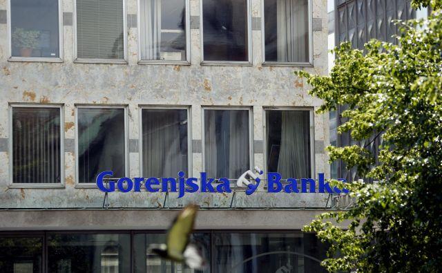 Gorenjska banka, poslovalnica na Dalmatinovi. FOTO: Uroš Hočevar/Delo