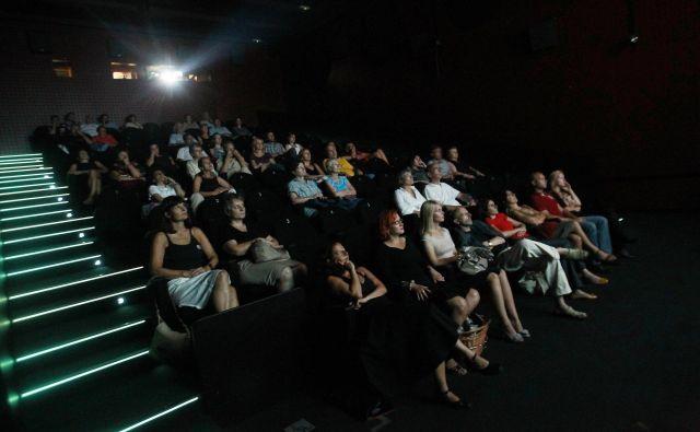 Nacionalni filmski festival je seveda del osnovne infrastrukture neke kinematografije. FOTO: Leon VIDIC/Delo