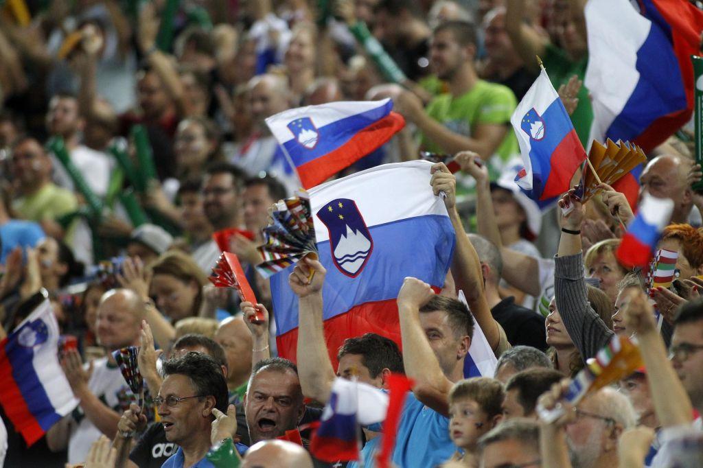 FOTO:Prvi poraz, Makedonci šokirali Slovence