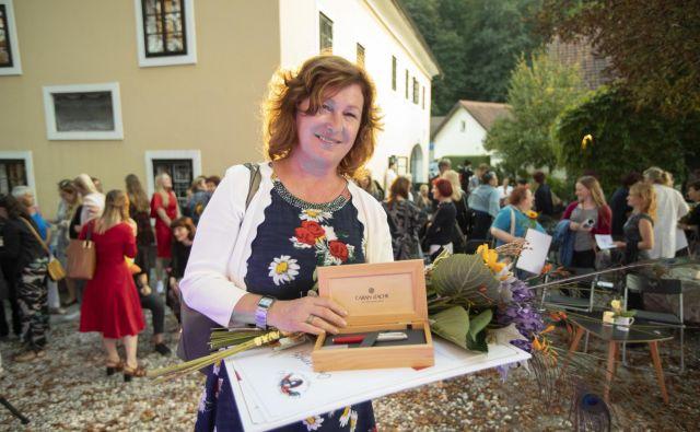 Mateja Gomboc, zmagovalka natečaja Onina zgodba FOTO: Voranc Vogel
