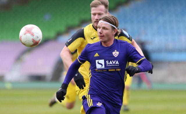 Dare Vršič je prejšnjih pet sezon nosil dres Maribora, tokrat pa je potopil nekdanje soigralce. FOTO: Tadej Regent