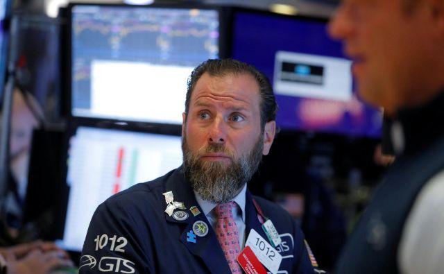 Trgovalni algoritmi nad dogodki na trgu niso presenečeni. FOTO: Reuters