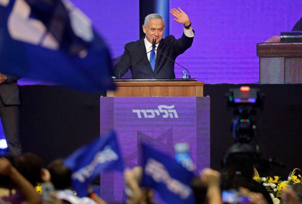 Izenačenje vodilnih izraelskih strank