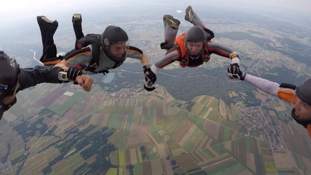FOTO:Novi državni prvaki v padalskih skokih