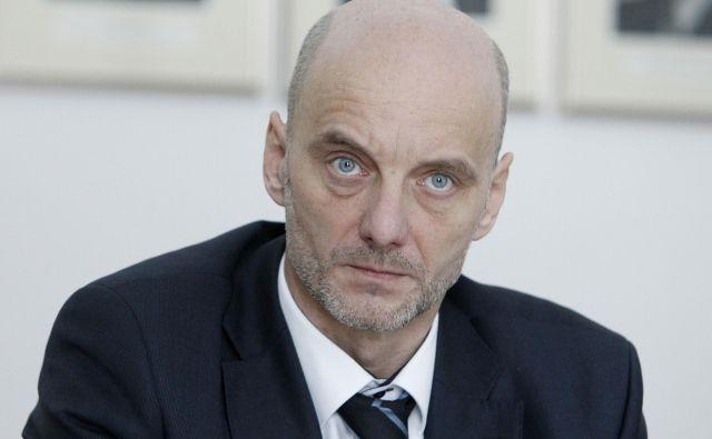 Franci Vindišar je novi-stari strokovni direktor celjske bolnišnice. FOTO: Leon Vidic/Delo