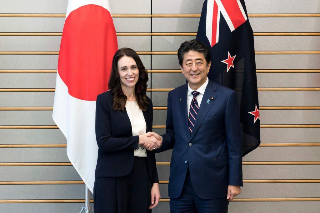 Novozelandska premierka Japonsko zamenjala s Kitajsko
