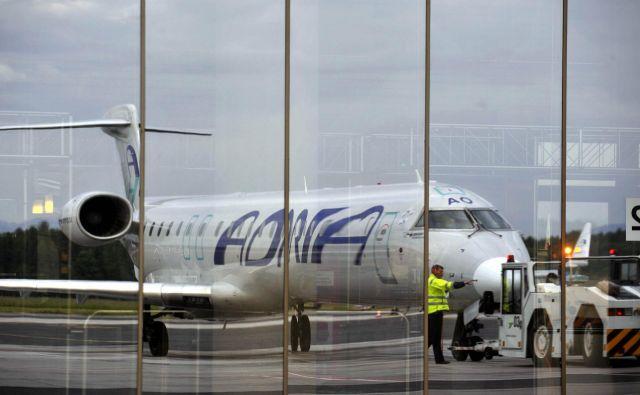 Dve letali Adrie sta ostali prizemljeni. FOTO: Reuters<br />