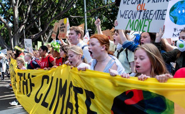 Pri nas Mladi za podnebno pravičnost protest napovedujejo za 27. septembra. FOTO: Stringer Reuters