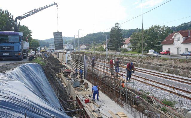 Obnova železniške postaje Šentilj. FOTO: Tadej Regent/Delo