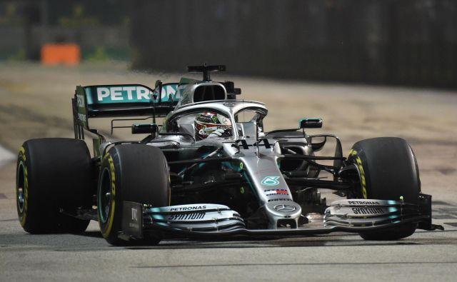 Lewis Hamilton je vse bližje šestemu naslovu svetovnega prvaka. FOTO: AFP
