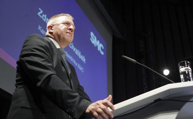 Zdravko Počivalšek, novi prvi mož SMC, se je že slišal tudi s prvakom SDS Janezom Janšo. Te komunikacije se predsednik vlade menda ne boji.<br /> Foto Mavric Pivk