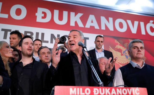 Milo Đukanović je še varen na oblasti, opozicija ostaja nemočna in neenotna. FOTO: Reuters