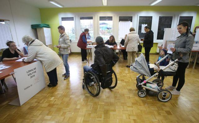 Število ljudi v Sloveniji, ki bodo potrebovali dostopnost, se bo povečevalo in celo preseglo 30 odstotkov prebivalstva. Foto Tadej Regent