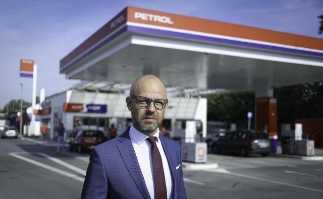 Uroš Bider, generalni menedžer Petrola v Srbiji: »Potencial Srbije je velik, ogromno ima razvojnih projektov, tempo je zelo hiter.« FOTO: Jože Suhadolnik