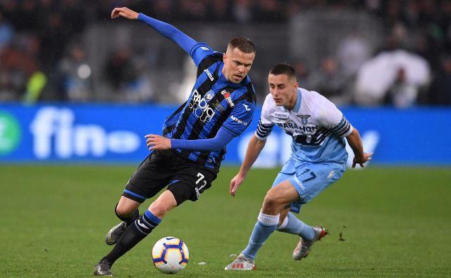 Josip Iličić je igral dobre pol ure, dovolj za pomemben gol Atalante. FOTO: Reuters