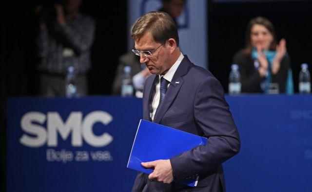 Miro Cerar ostaja zunanji minister ter kot podpredsednik tudi v vodstvu stranke, ki jo je ustanovil 2.junija 2014.FOTO: Tadej Regent/delo