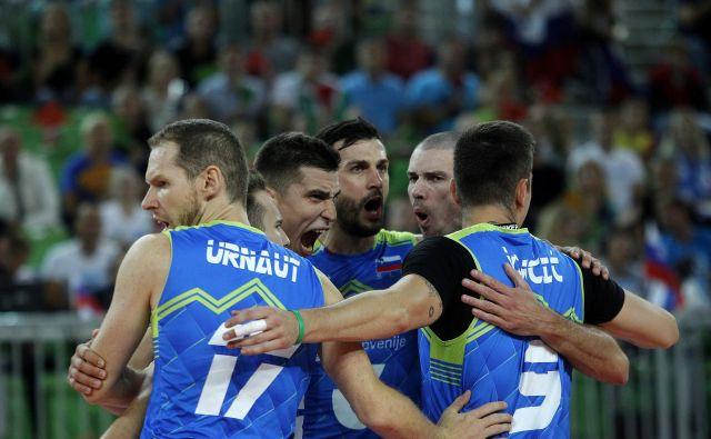Slovenci so znova med osmimi najboljšimi reprezentancami stare celine. FOTO: Mavric Pivk/Delo