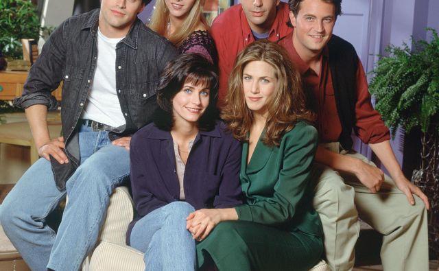 Tudi 25 let po prvem predvajanju Prijatelji ostajajo na vrhu seznamov najbolj gledanih televizijskih vsebin. FOTO: promocijski Material