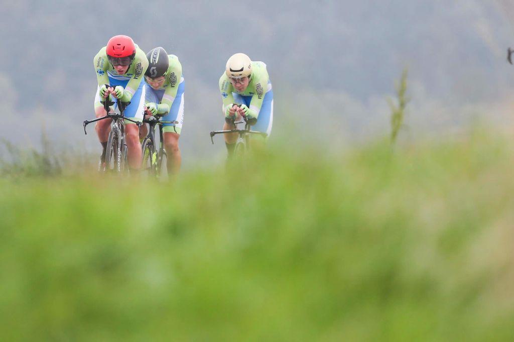 FOTO:Nizozemska prva, Slovenija sedma na svetu v mešanih štafetah