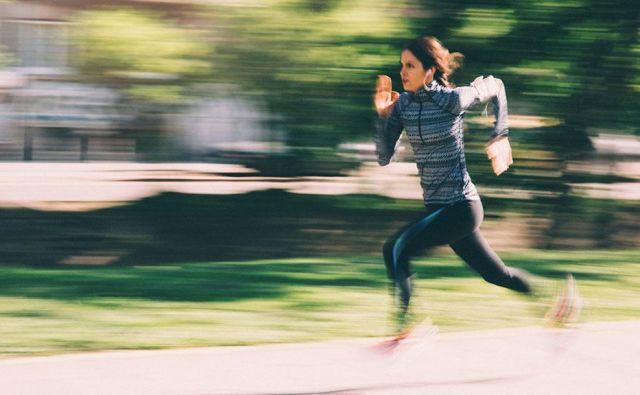 Trening hitrosti se razlikuje glede na čas, v katerem ste. Foto Shutterstock