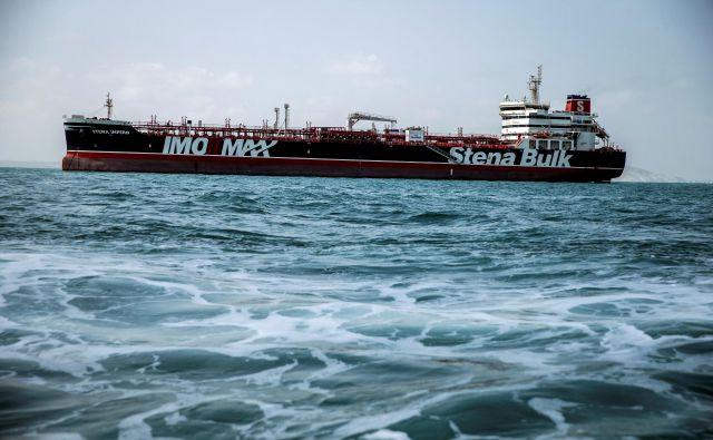 Zajetje tankerja Stena Impero se je zgodila kmalu po zajetju iranskega tankerja v Gibraltarju. FOTO: Wana News Agency via Reuters