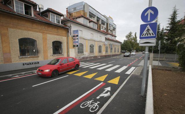 Prenovljena Parmova ulica -1. del. FOTO: Jože Suhadolnik