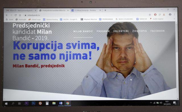 Korupcija bo državna religija, je ena od točk programa novega Milana Bandića. Foto Cropix