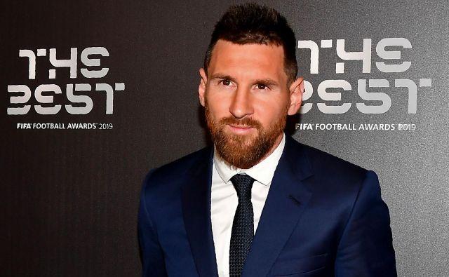 Lionel Messi je bil najboljši igralec leta 2019. FOTO: AFP