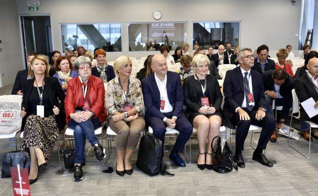 Poslovna konferenca: Sodobni pristopi in priložnosti za aktivacijo. FOTO: Voranc Vogel/Delo