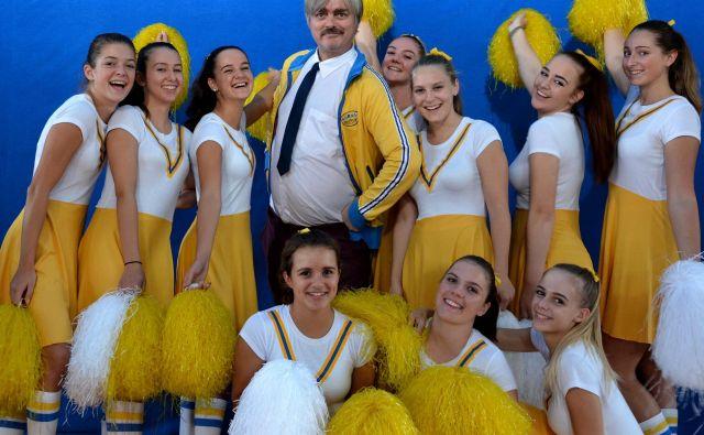 Marko kot Salta v filmu Košarkarjev dnevnik 2. FOTO: Košarkarjev Dnevnik 2