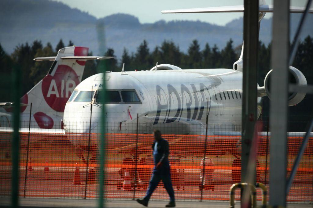 Adria Airways brez še enega letala