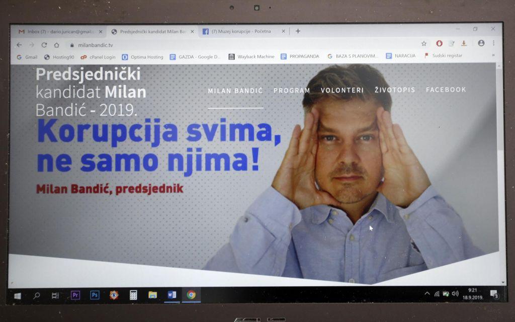 FOTO:Delal bo kot konj, da bo korumpiral Hrvaško