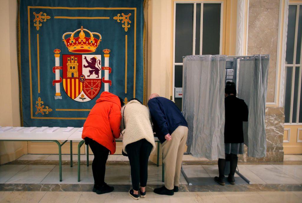 Špansko parlamentarno drobljenje