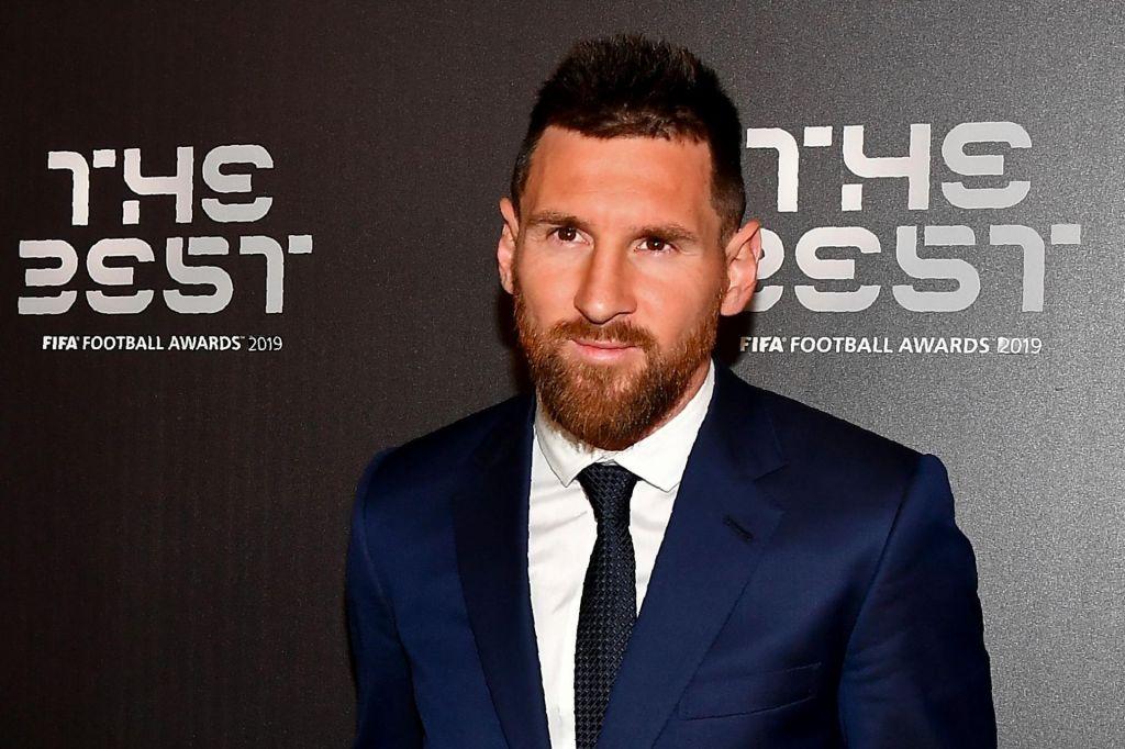 Lionel Messi igralec leta